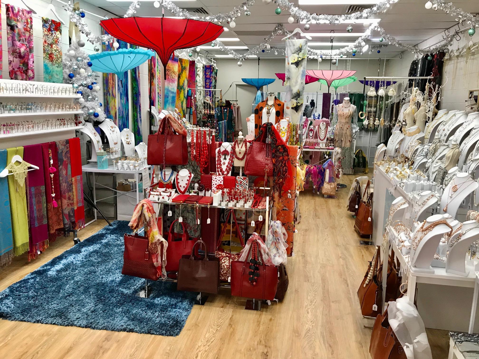Shop 10 - Pure Pop Up shop set up